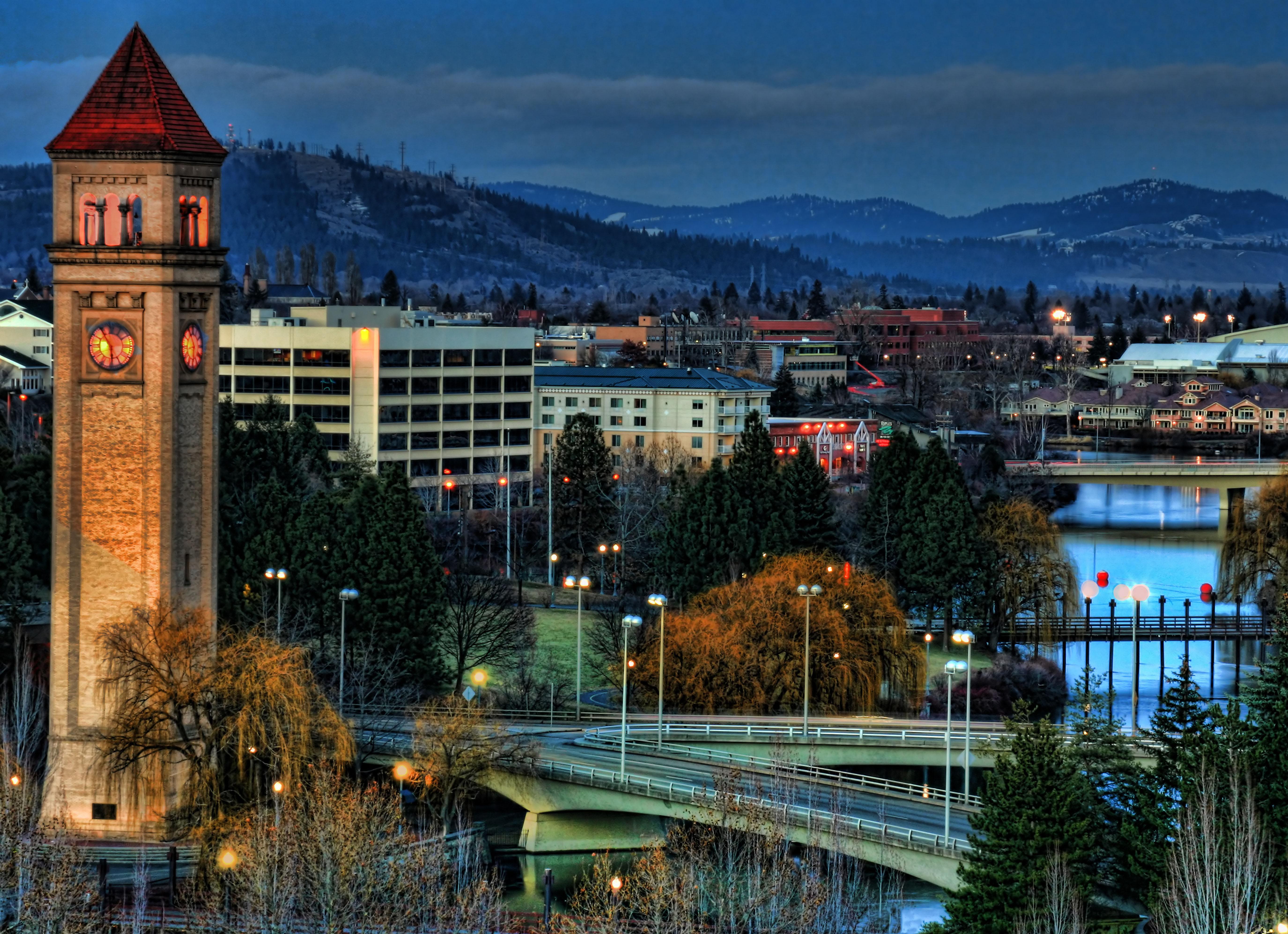 What time in spokane wa