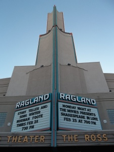 Ross Ragland Theater in Klamath Falls. Photo by Marti Gerdes.