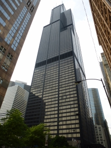The Willis (Sears) Tower, SOM, 1973. Photo by: B. Niederer.