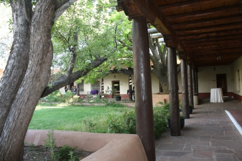 The NPS Region III Headquarters in Santa Fe is the largest Adobe office building in the U.S. Built in 1937-39 by the CCC.